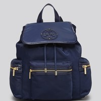 Tory Burch Backpack - Billy Stacked T Logo