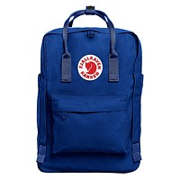Blue Fjallraven Kanken Durable Backpack Outdoor School Travel Bag