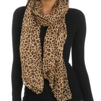 Leopard Printed Scarf | Shop Just Arrived at Wet Seal