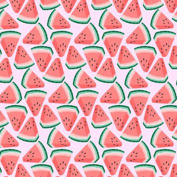 watermelon - kristinnohe - Spoonflower