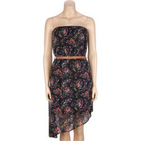 FULL TILT Floral Belted Tube Dress 196766100 | Dresses | Tillys.com