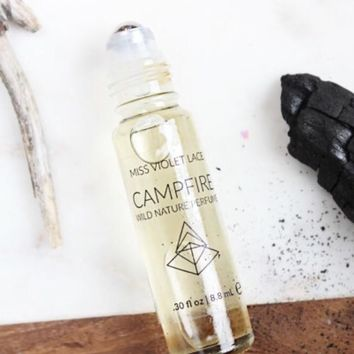 Miss Violet Lace Campfire Wild Nature Perfume