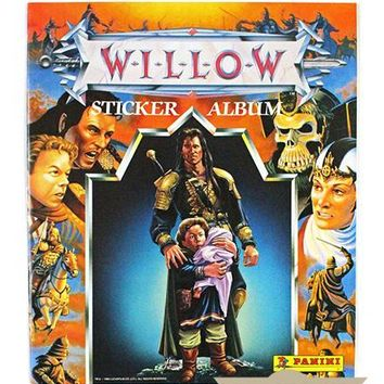 Willow (1988) Movie Sticker Album + Stickers