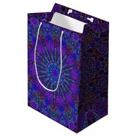 Boho-romantic colored mandala ornament arabesque medium gift bag
