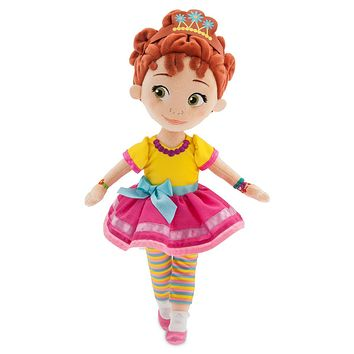 Disney Store Fancy Nancy Doll Plush New with Tags