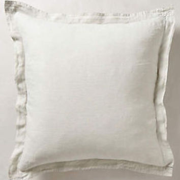 NWT Anthropologie Soft-Washed Linen Collection 1 Euro Sham