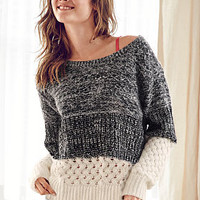Colorblock Crewneck Sweater - Victoria's Secret