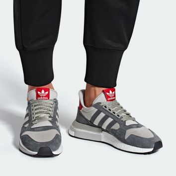 Adidas ZX500 RM Boost  Popcorn with all kinds of retro jogging shoes