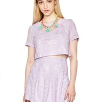 Lavender Lace Matching Separates