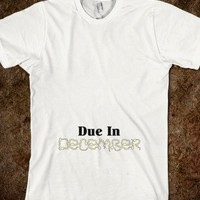 Due Date December Maternity Pregnancy Tee - The Dawl House