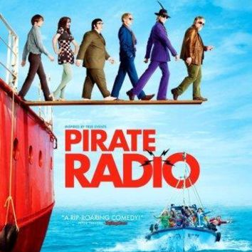 Pirate Radio movie poster Sign 8in x 12in