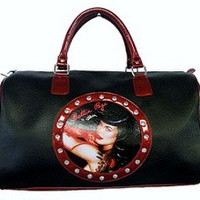 Bettie Page Overnight Bag