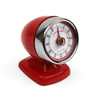 Kikkerland Design Inc » Products » Vintage Streamline Kitchen Timer + Red