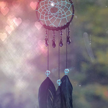 Calypso's Eye mini dream catcher