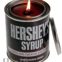 Hershey's Syrup Chocolate Scented Candle: Authentic chocolate aroma
