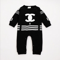 Cotton Long Sleeve Romper And Jumpsuit For Newborn Babies