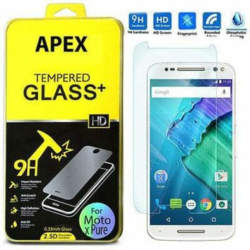 HD Clear Tempered Glass Screen Protector for Motorola Moto X Pure Edition/Style 635909324850