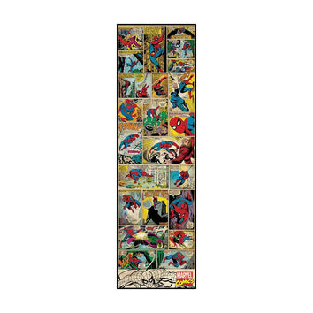 Classic Spider-Man Comic Book Wall Panel