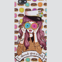 I Donut Give a Fuck iPhone 5 Case