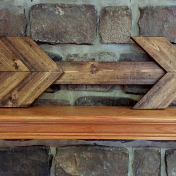 Arrow wall decor, wood wall sign, rustic wall sign, arrow wall art rustic home decor arrow sign wall hanging, large wall sign rustic wedding
