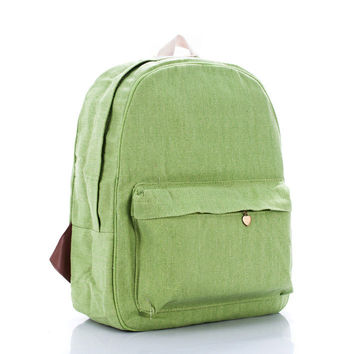 Back To School College Hot Deal Casual On Sale Comfort Green Stylish Backpack [8097971911]