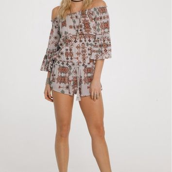 Native Dreams Romper by Raga