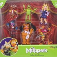 Disneys The Muppets Collectible Figure Set (PVC - Non Articulating) - Disney Parks Exclusive & Limited Edition