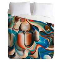 Brian Wall Fine Art Beatle Duvet Cover
