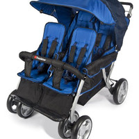 Foundations Quad Lx 4-Passenger Stroller Regatta Blue - 4140037