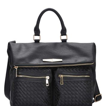 MMS Design Studio Tote Bag in Black BGS-4930-BLK