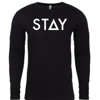 THE ORIGINAL LONG SLEEVE - BLACK (UNISEX)