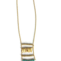 Queen of the Bungalow Layered Beaded Necklace