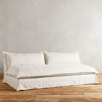 Belgian Linen Tassa Sofa by Anthropologie