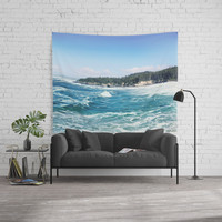 Oregon coast Wall Tapestry by sylviacookphotography