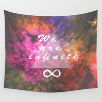 Infinite Wall Tapestry by MJ Mor