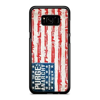 The Purge Anarchy Flag Samsung Galaxy S8 Plus Case
