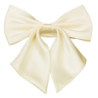 Tok Tok Designs Women's Pre-Tied Bow Tie (W21, Cream Color)