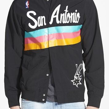 Mitchell & Ness 'San Antonio Spurs' Warm-Up Jacket,
