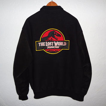 Rare Jurassic Park 'The Lost World' official crew jacket - large - Open to offers!! free shipping in USA and Canada