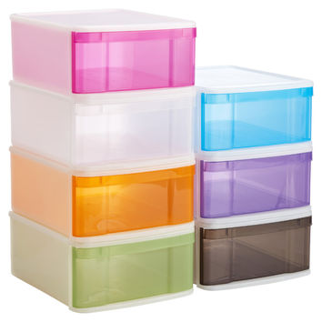 Large Tint Stackable Drawer