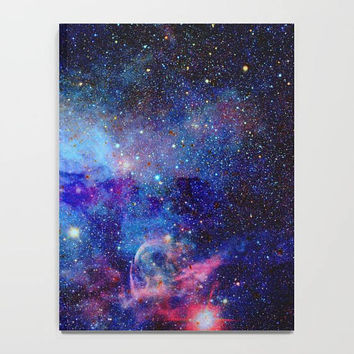 Blue Galaxy Journal, Stars Journal, Space Journal, Galaxy Notebook, Outer Space Notebook, Astronomy Notebook, Glitter Journal, Galaxy Decor