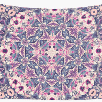 'mandala 4 purple #mandala' Wall Tapestry by Lionmixart
