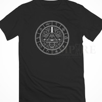 Gravity Falls Map Unisex/Men Tshirt All Size