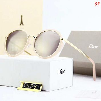 DIOR Fashion New Polarized Sun Protection Glasses Eyeglasses Women 3#