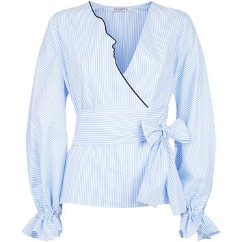 Vivetta Kari Wrap-Around Shirt | Harrods.com