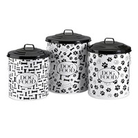 Bones & Paws Dog Food Storage Containers