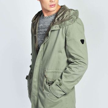 Lightweight Cotton Festival Parka