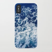 Sea Waves iPhone Case by Jenna C.