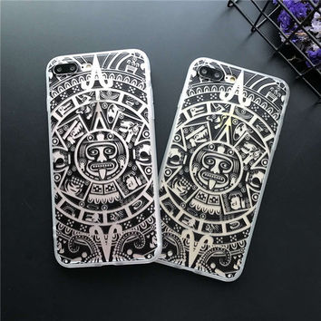 Iphone 5/5s Iphone 6/6s iPhone7/7plus On Sale Stylish Hot Deal Cute Strong Character Relief Sculpture Iphone Soft Phone Case [9077381572]