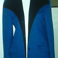 HALSTON Wool Blazer Coat Jacket Union Made